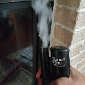 Smoke Pencil Fireplace
