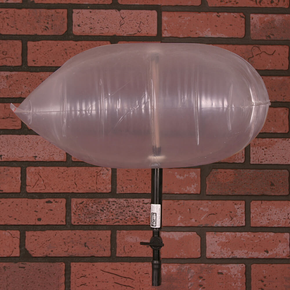 Cleverly Solved Medium Chimney Balloon 12 X 12