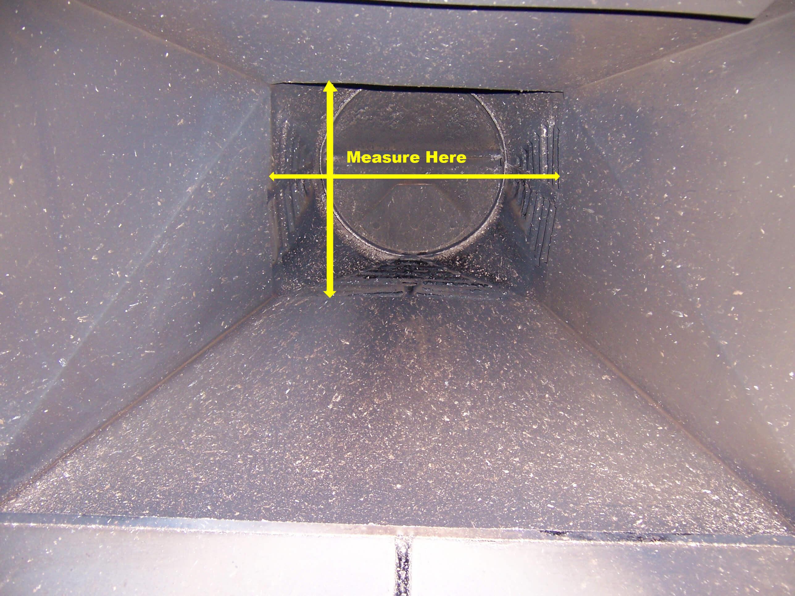 Measuring a Zero Clearance Heatelator Fireplace