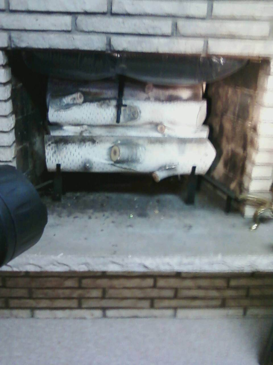 40 i have a fireplace with a twist knob on the face of the