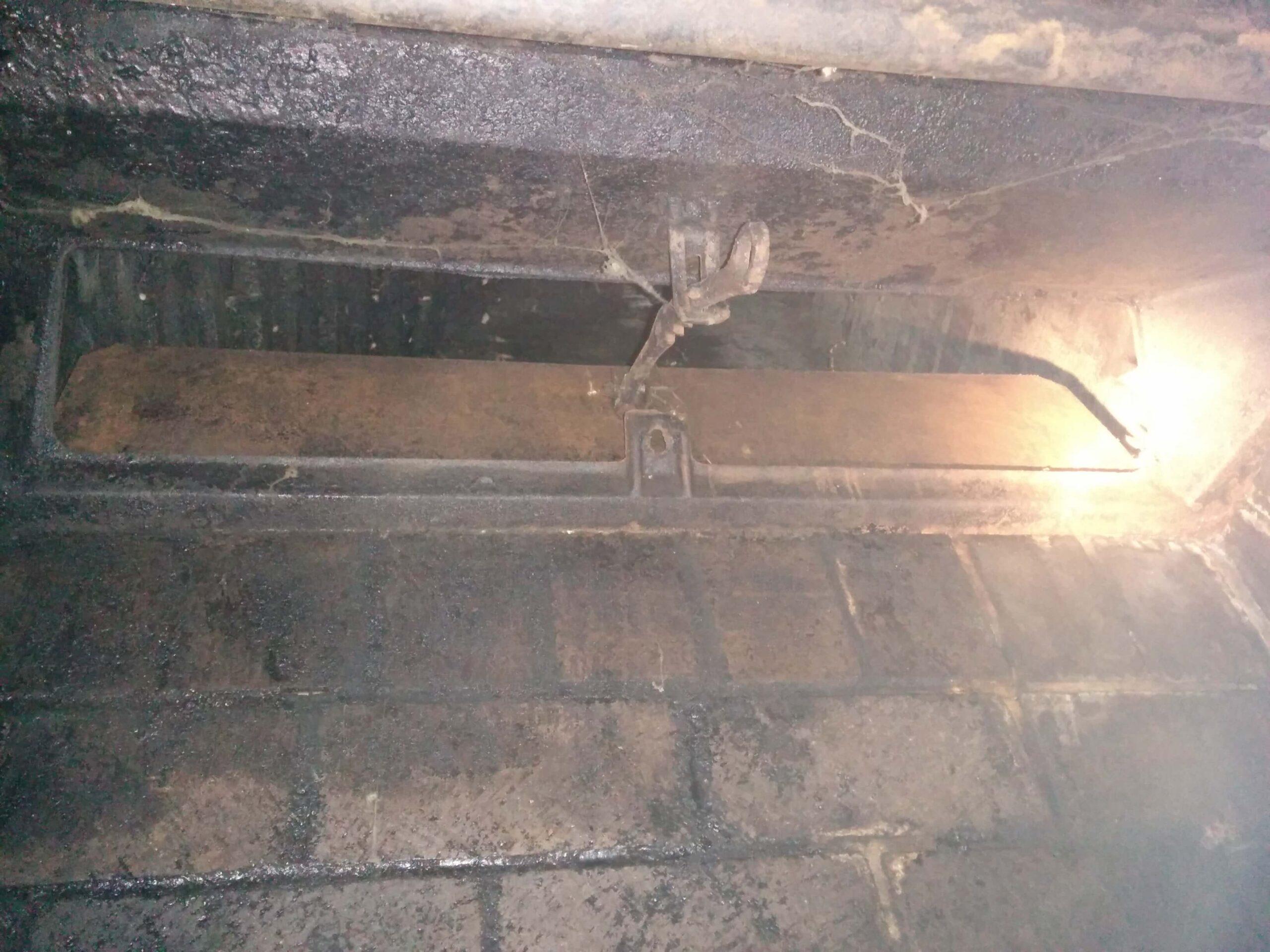 Vestal Damper with High Flue tile