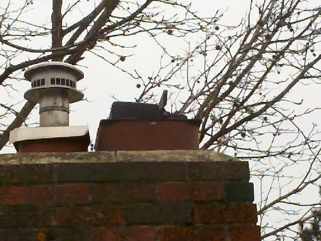 lymance damper on chimney top