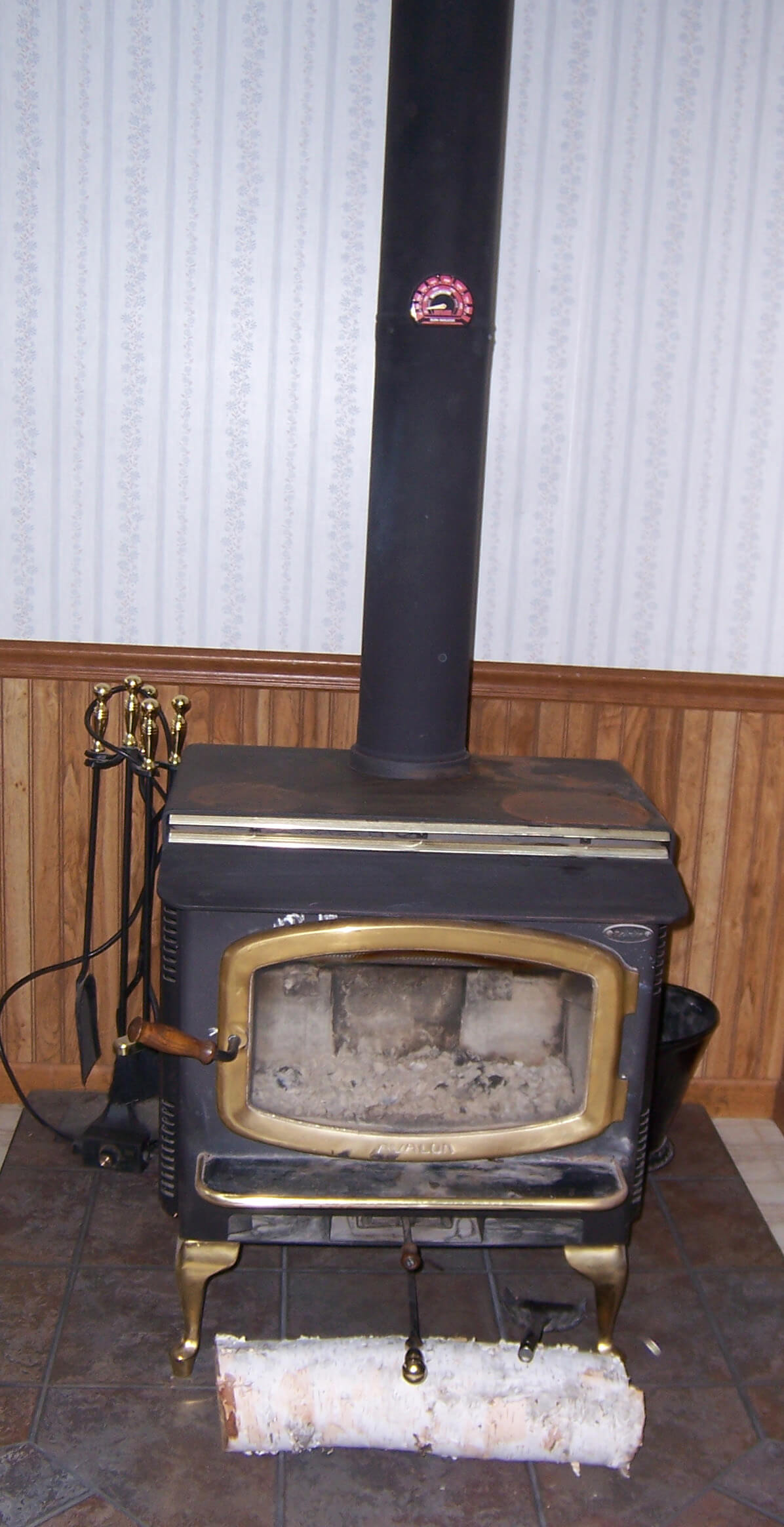 Avalon Wood Stove Cleverly Solved