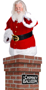 Christmas Chimney Balloon