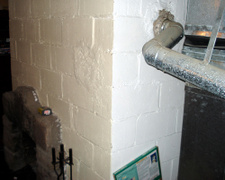 basement chimney