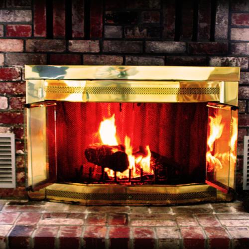 Fireplace Brass