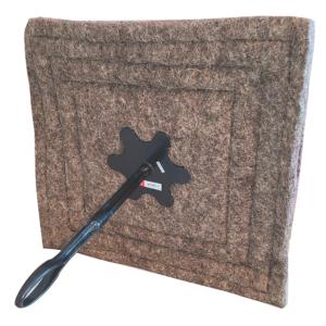 16x16 Flueblocker Square wool chimney plug